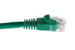 CAT6 Ethernet Patch Cable, Snagless, 7', Green