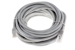CAT6 Ethernet Patch Cable, Snagless, 30', Gray