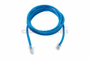 CAT6 Ethernet Patch Cable, Non-Booted, 5 Foot, Blue