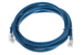 CAT6 Ethernet Patch Cable, Non-Booted, 6 Foot, Blue