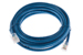 CAT6 Ethernet Patch Cable, Non-Booted, 10 Foot, Blue
