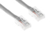 CAT6 Ethernet Patch Cable, Non-Booted, 2 Foot, Gray