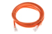CAT6 Ethernet Patch Cable, Non-Booted, 5 Foot, Orange