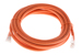 CAT6 Ethernet Patch Cable, Non-Booted, 10 Foot, Orange