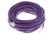 CAT6 Ethernet Patch Cable, Non-Booted, 25 Foot, Purple