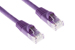 CAT6 Ethernet Patch Cable, Snagless, 3', Purple