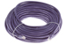 CAT6 Ethernet Patch Cable, Snagless, 100', Purple