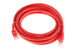 CAT6 Ethernet Patch Cable, Snagless, 10', Red