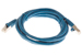 CAT6 Shielded Ethernet Patch Cable, Booted, 7ft, Blue