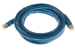 CAT6 Shielded Ethernet Patch Cable, Snagless, 10 Foot, Blue