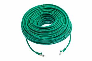 CAT6 Shielded Ethernet Patch Cable, Snagless, 200 Foot, Green