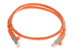 CAT6 Shielded Ethernet Patch Cable, Snagless, 2 Foot, Orange