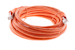 CAT6 Shielded Ethernet Patch Cable, Snagless, 15 Foot, Orange