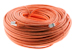 CAT6 Shielded Ethernet Patch Cable, Booted, 200ft, Orange