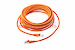 CAT6 Shielded Ethernet Patch Cable, Snagless, 25 Foot, Orange