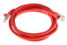 CAT6 Shielded Ethernet Patch Cable, Snagless, 6 Foot, Red