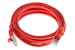 CAT6 Shielded Ethernet Patch Cable, Snagless, 7 Foot, Red