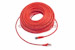 CAT6 Shielded Ethernet Patch Cable, Snagless, 100 Foot, Red