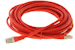 CAT6 Shielded Ethernet Patch Cable, Snagless, 25 Foot, Red