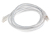 CAT6 Shielded Ethernet Patch Cable, Snagless, 3 Foot, White
