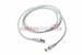 CAT6 Shielded Ethernet Patch Cable, Snagless, 6 Foot, White