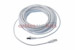 CAT6 Shielded Ethernet Patch Cable, Snagless, 50 Foot, White