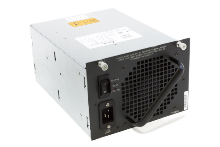 Cisco 4500 Series 1400W AC Power Supply, PWR-C45-1400AC