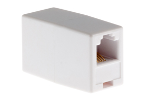 RJ11 Inline Coupler for Connecting Modular Cables