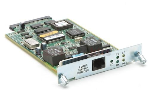Cisco 4-Wire 56Kbps DSU/CSU Module for 2524/2525 Routers