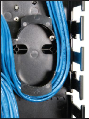"Great Lakes Set of Two 5"" Duct Slack Loop Storage Organizer Kit"