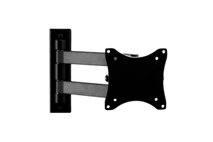"Full Motion(Tilt/Swivel) Universal Flat Panel Wall mount 13""-27"""