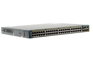 Cisco 2960S 48 Port Gigabit 370W PoE+ Switch, WS-C2960S-48LPS-L