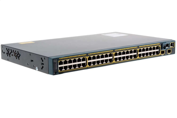 Cisco 2960S Series 48 Port Gigabit Switch, WS-C2960S-48TD-L, NEW
