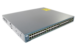 Cisco Catalyst 3560 PoE 48 Port Switch, WS-C3560-48PS-S
