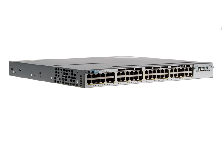 Cisco 3750X Series 48 Port Switch, WS-C3750X-48T-L