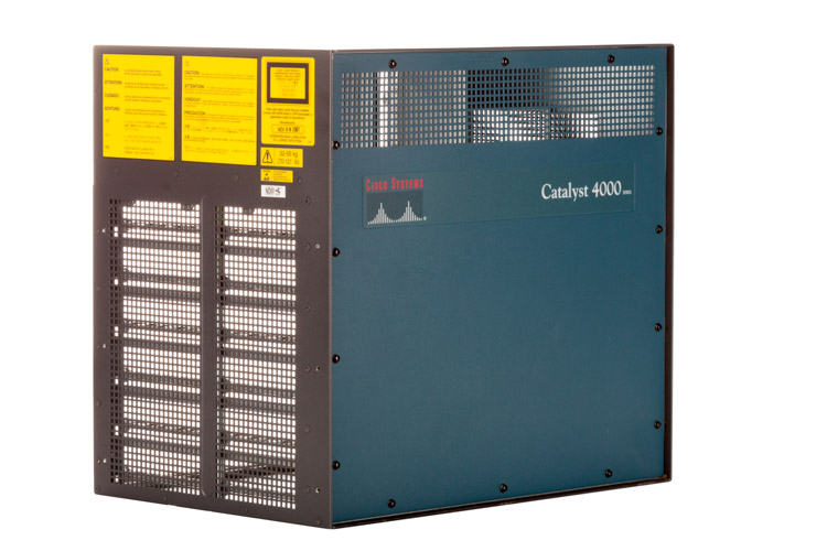 Cisco Catalyst 4006 6 Slot Chassis, WS-C4006