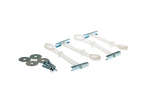 Kendall Howard Wall Mount Hardware Kit