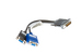 Dell DVI M1-DA to 2x VGA Video Splitter Cable