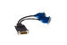Dell DMS-59 Dual VGA Video Splitter Cable, 0G9438