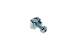 Rack Mount Cage Nuts with Screws, 10-32, Qty 100