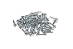 Rack Mount Cage Nut Screws, 12-24, Qty 50