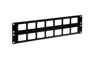 Kendall Howard 2U Cable Routing Blank