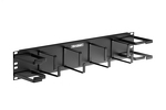 "Gruber 19"" 2RU Rack Mount Cable Management Panel"
