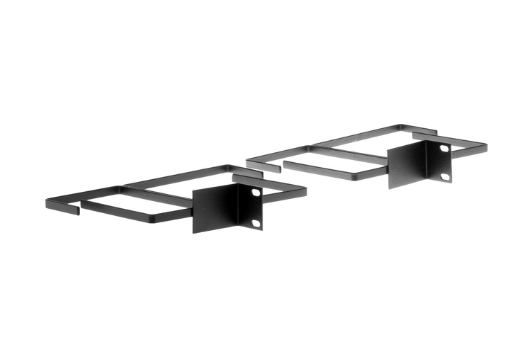 Rack Mount Vertical Cable Brackets (1 Pair)