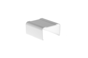 Cable Raceway Joint Cover, White, 1.75""