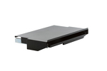 "19"" Rack Mount Keyboard/Mouse Shelf, Black"