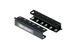 Gruber 2RU Rackmount Swinging Patch Panel Mounts