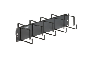 Gruber 2RU Front/Rear Cable Management Panel