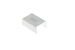 """Cable Raceway Joint Cover, White, 1.25"""""""