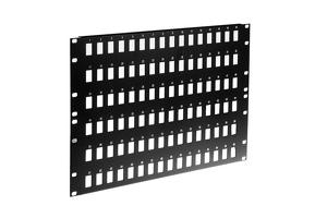 Blank Keystone Panel - 96 Ports, 5RU